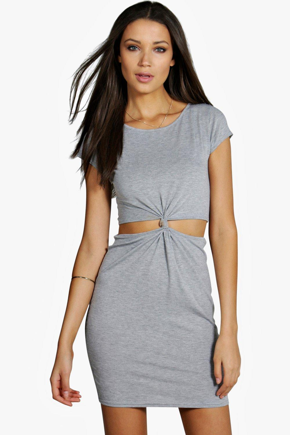 Tall Kelly Cut Out Knot Front Dress