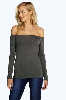 Tall Shirley Off The Shoulder Tee