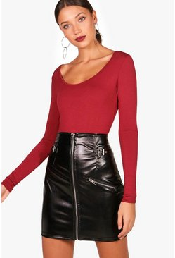 Tall Jennie Long Sleeve Basic Bodysuit
