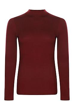 Tall Laura Long Sleeve Roll Neck