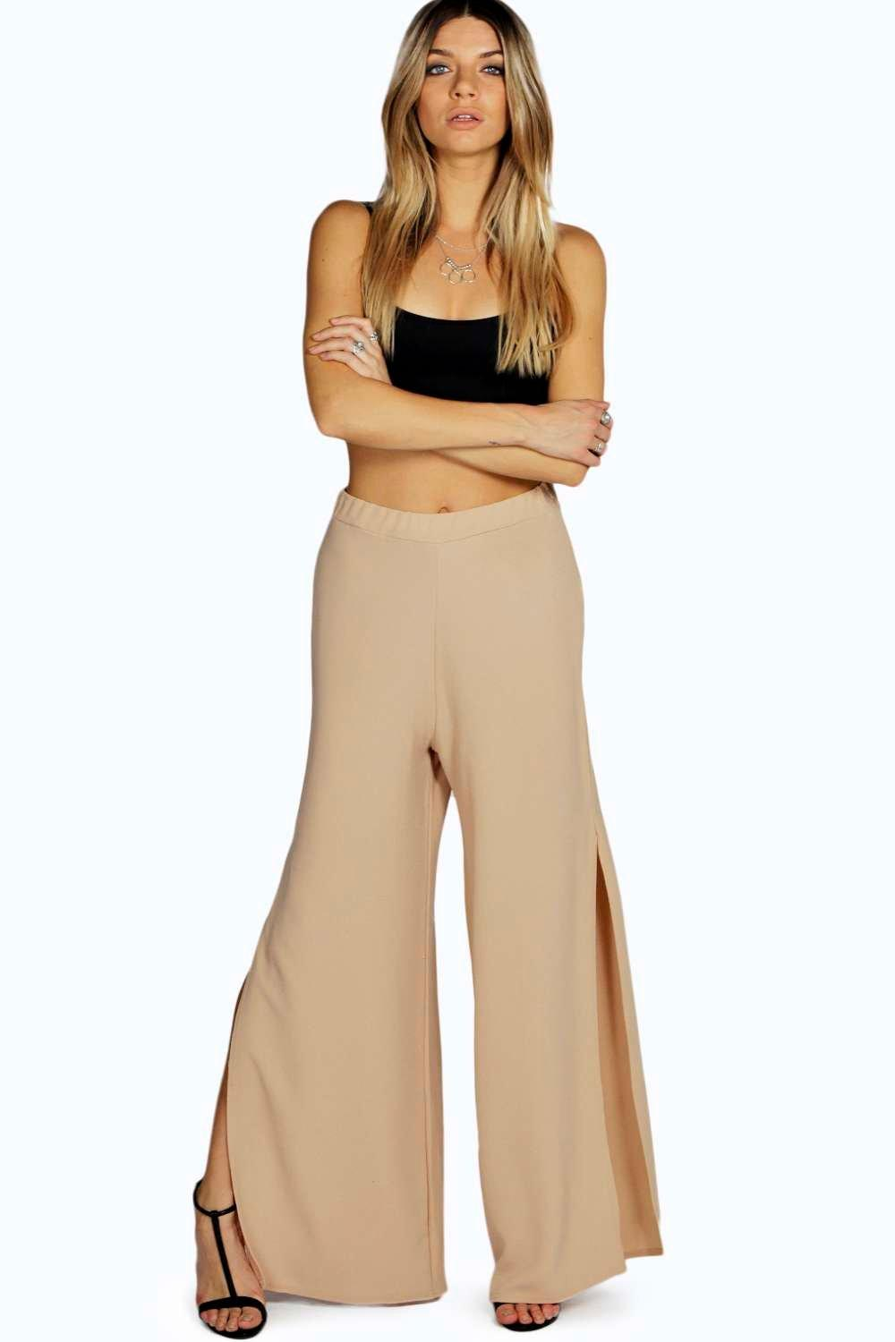 Caroline Open Leg Fluid Trouser