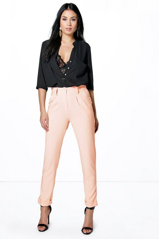 Rania Tailored Pleat Front Trousers