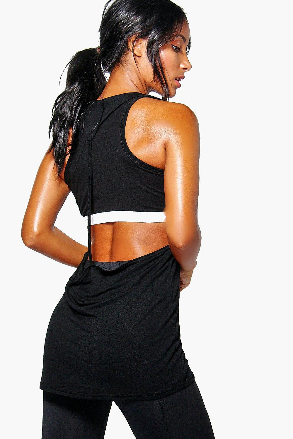Lily Fit Twist Back Running Vest