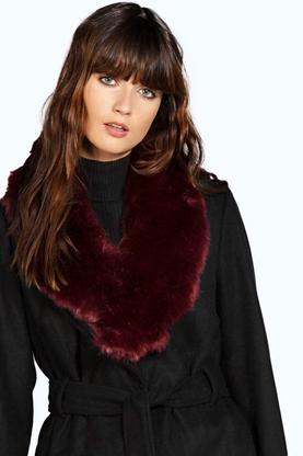 Lucy Faux Fur Long Collar Scarf
