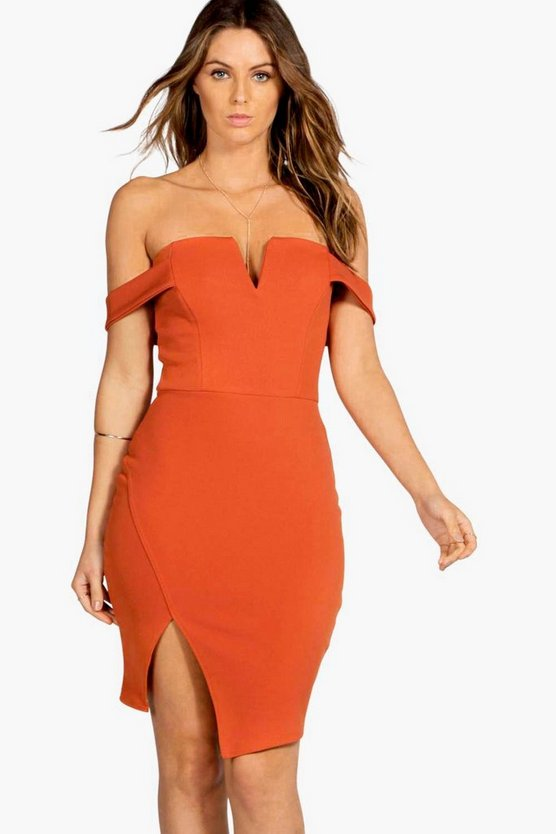Lexi Off The Shoulder Bodycon Dress