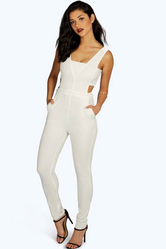 Helen Strap Side Jumpsuit