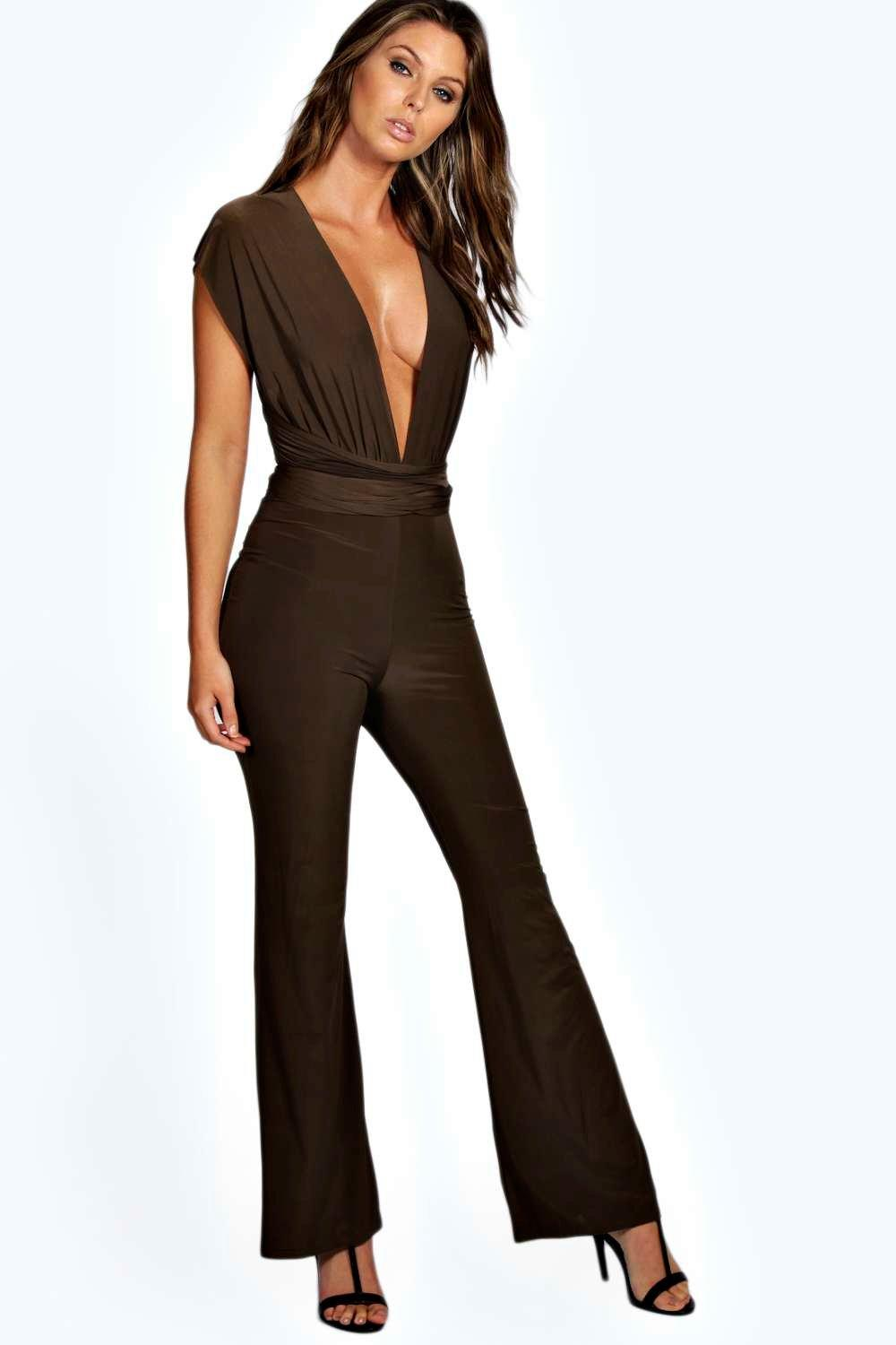 Maria Multi Way Slinky Jumpsuit