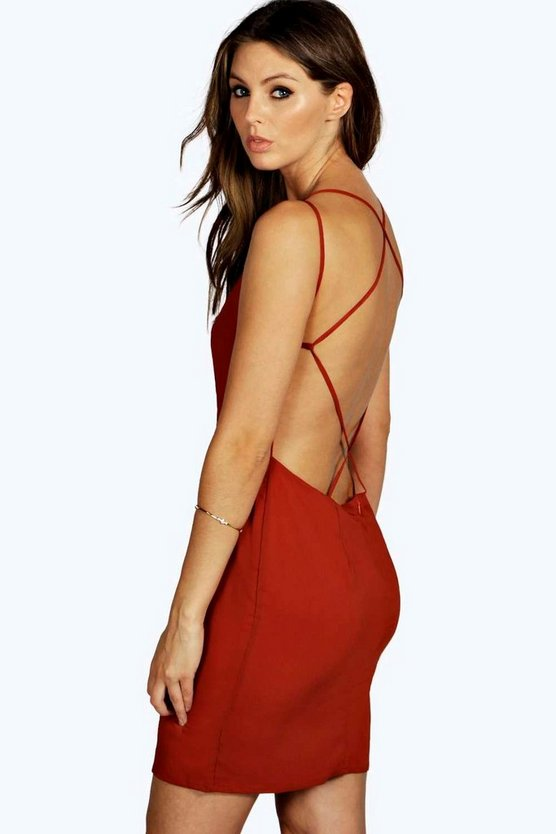 Bianca Strappy Back Dress