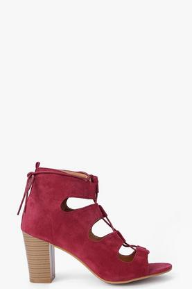 Olivia Ghillie Peeptoe Shoe Boot
