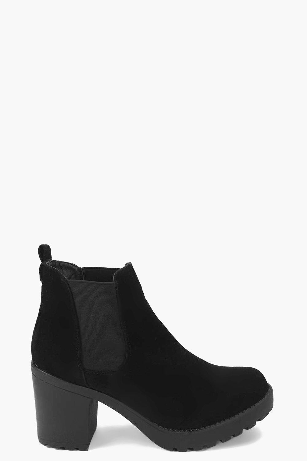 Alice Cleated Pull On Chelsea Boot