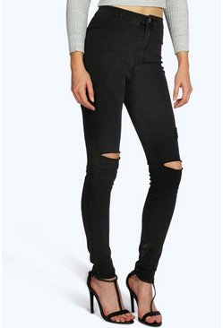 Lara High Rise Tube Jean