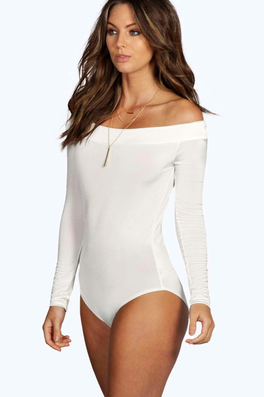 Faye Slinky Off The Shoulder Bodysuit