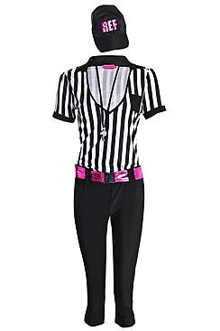 Frances instant replay referee fancy dress