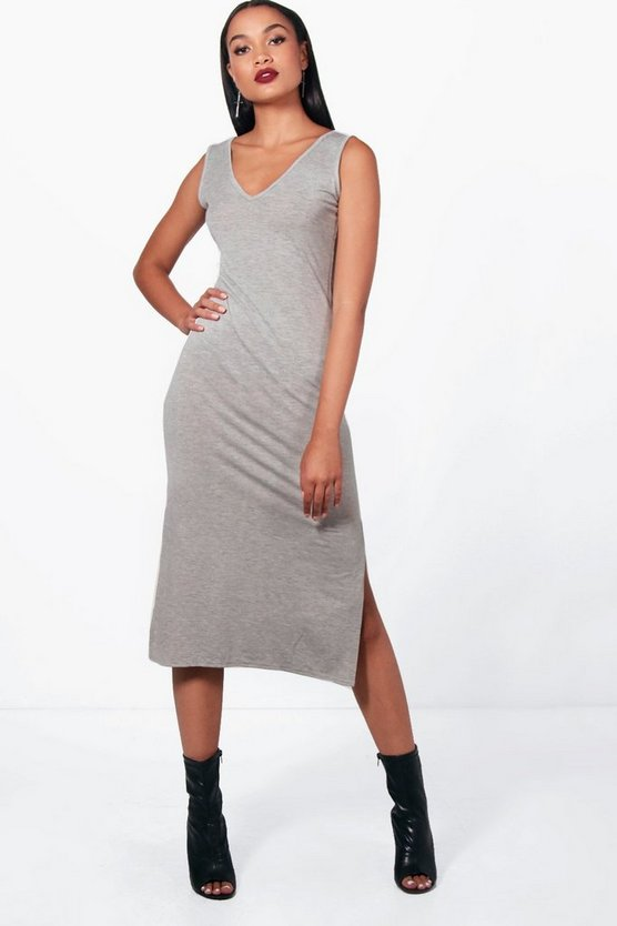 Monique Side Split Mini Bodycon