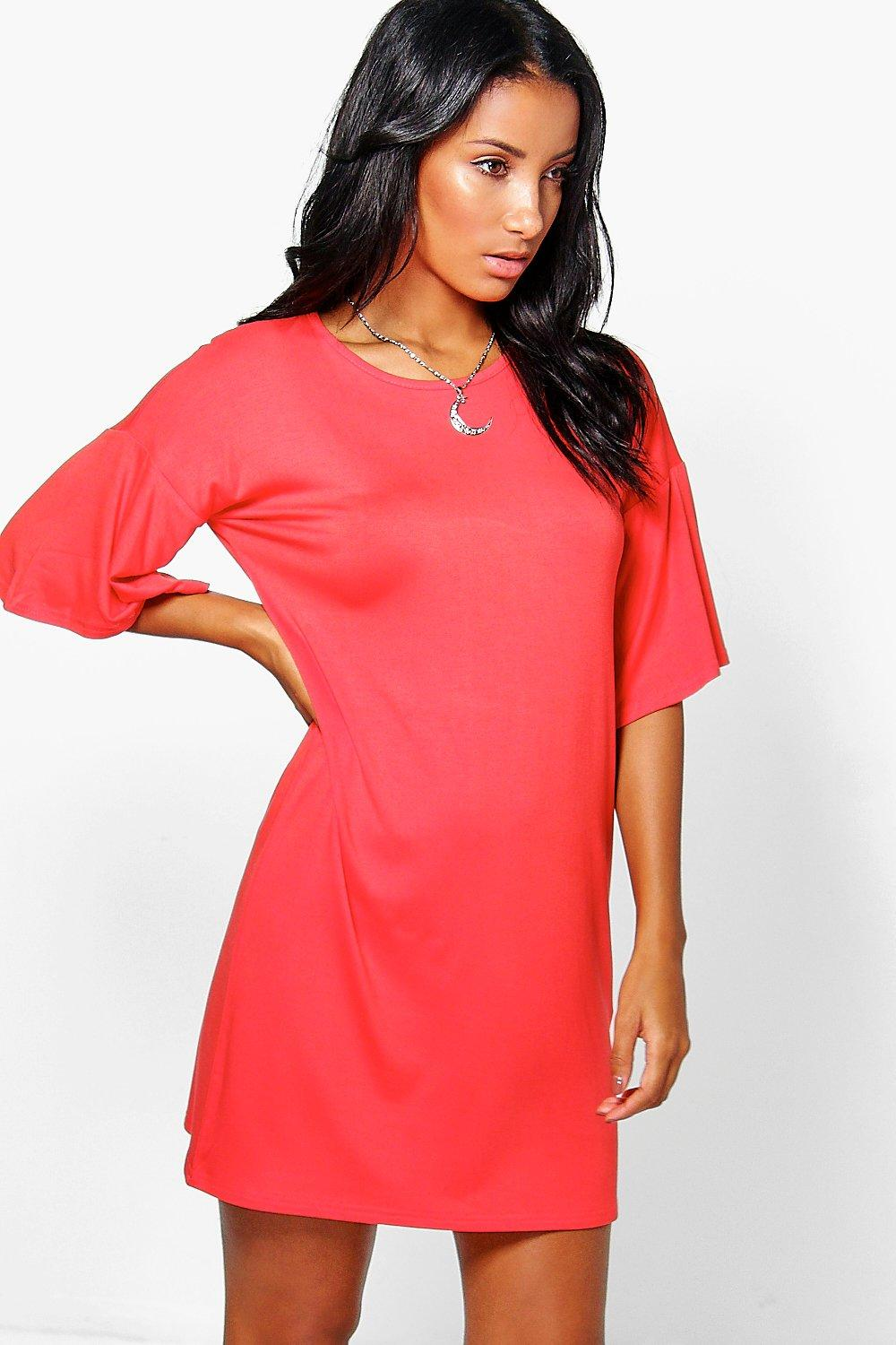 Charlotte Wide Sleeve Shift Dress