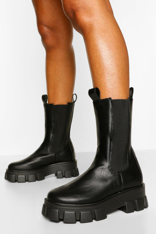 boohoo Hoge Chelsea Boots