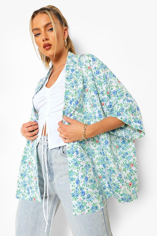 Boohoo Floral Kimono