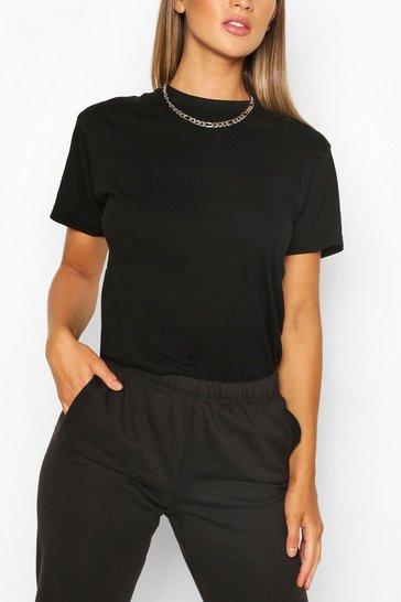 Black Basic Oversized t-shirt