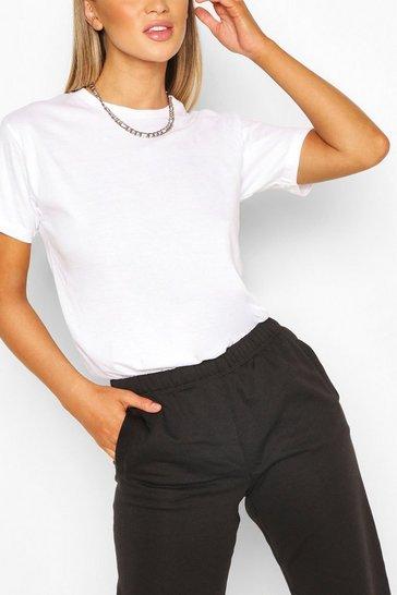 White Basic Oversized t-shirt