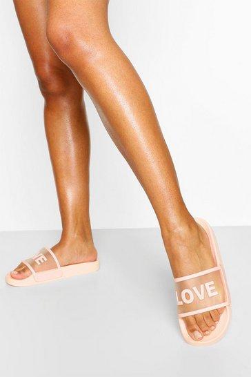 Nude Love Slogan Slider