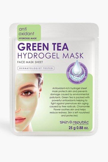 White Skin Republic Green Tea Hydrogel Face Mask