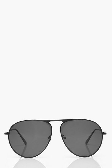 Black Smoke Tinted Aviators
