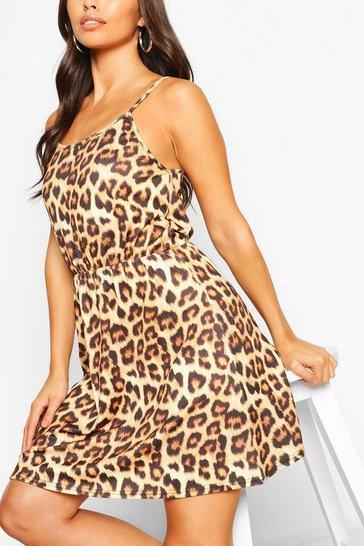Leopard Strappy Sundress
