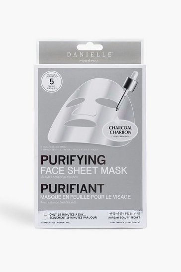 Multi Charcoal Detoxifying Face Mask - 5 Pack