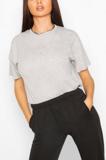 Grey Recycled Oversized T-Shirt