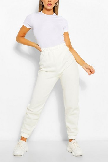 Ivory Brushed Supersoft Sweat Joggers