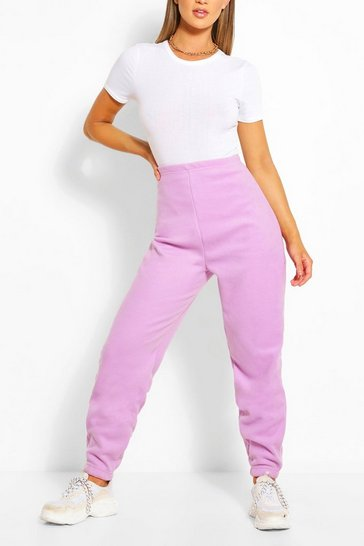 Lilac Supersoft Fleece Sweat Jogger