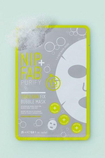 Grey Nip + Fab Teen Skin Bubble Sheet Mask