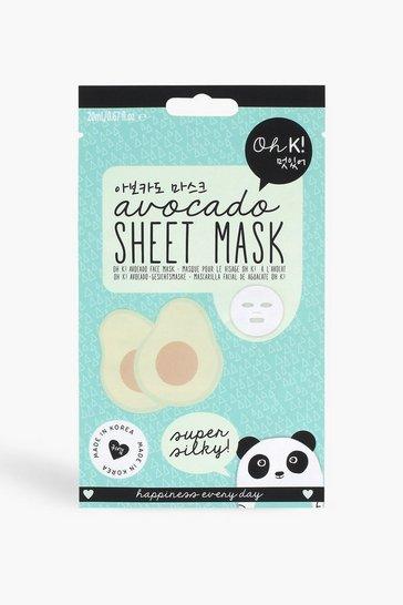 Blue Oh K! Sheet Mask - Avocado