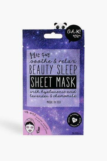 Purple Oh K! Beauty Sleep Sheet Mask