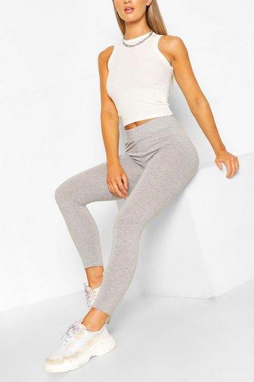 Grey marl Core Basic Highwaist Jersey Leggings
