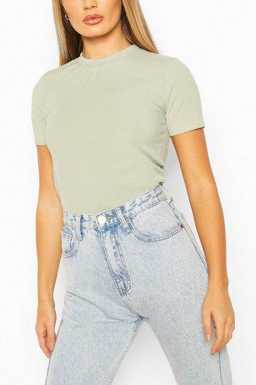 Sage Rib T-Shirt