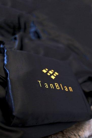 Black TanBlan Luxury Self Tan Bedding Protector