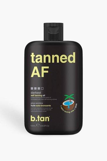 Black B.Tan Tanned AF Tanning Oil