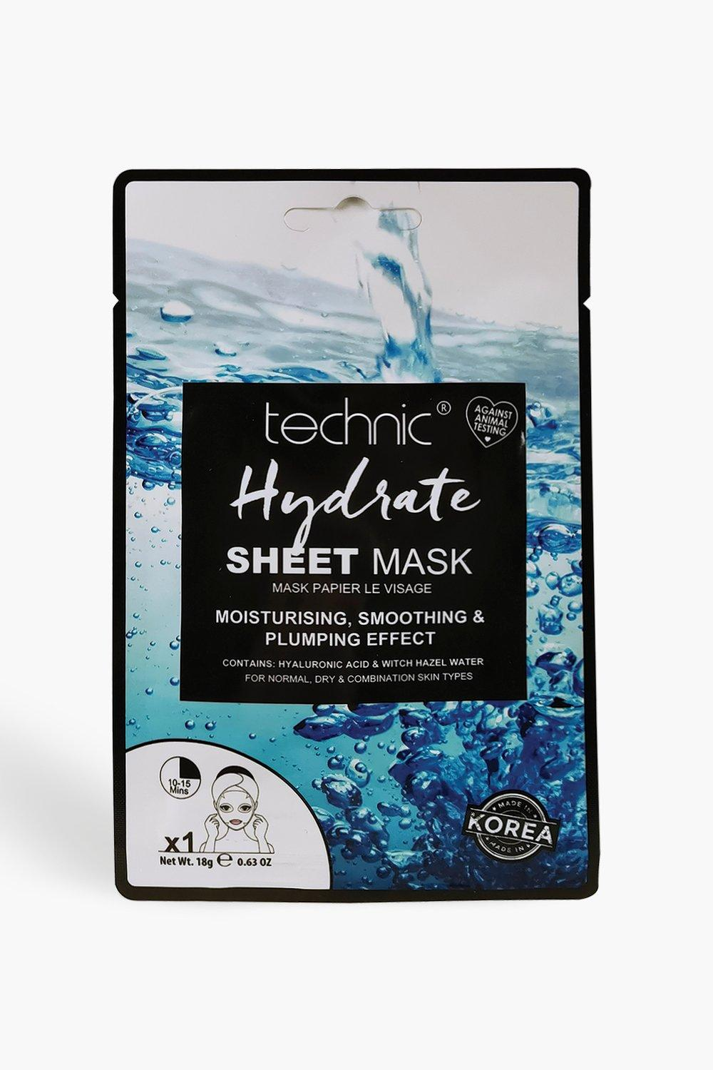 Technic Womens Technic Hydrate Sheet Face Mask - White - One Size, White