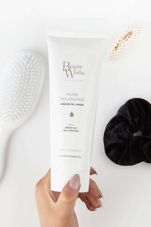 Womens Beauty Works Pearl Nourishing Mask 250Ml - White - One Size, White