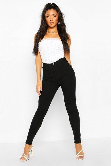 Black Power Stretch High Waist Skinny Jean