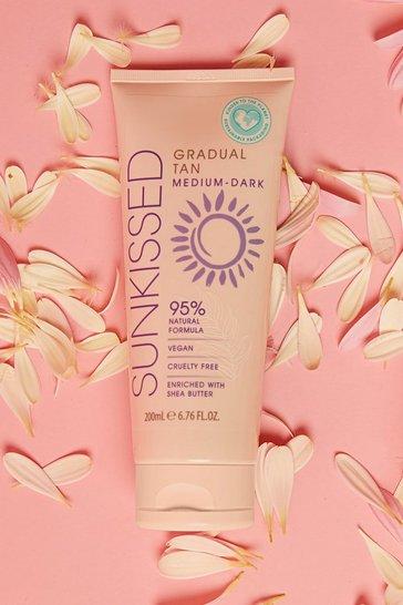 Cream Sunkissed Vegan Gradual Tan Medium Dark 200ml