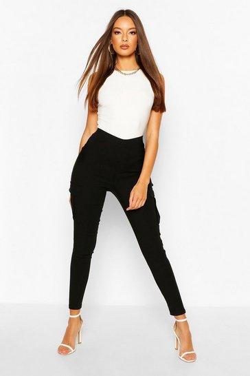 Black Premium Super Skinny Cargo Trousers