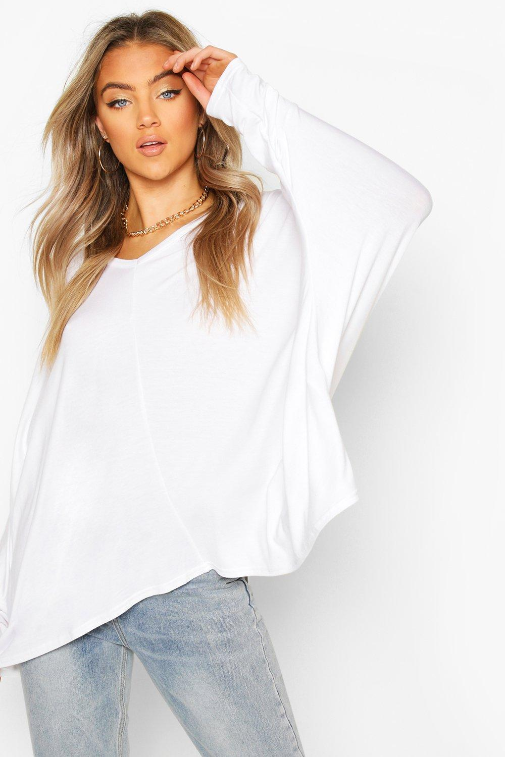 Sale Tops Loose Fitting Boxy Top