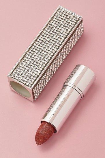 Silver Diamante Lipstick