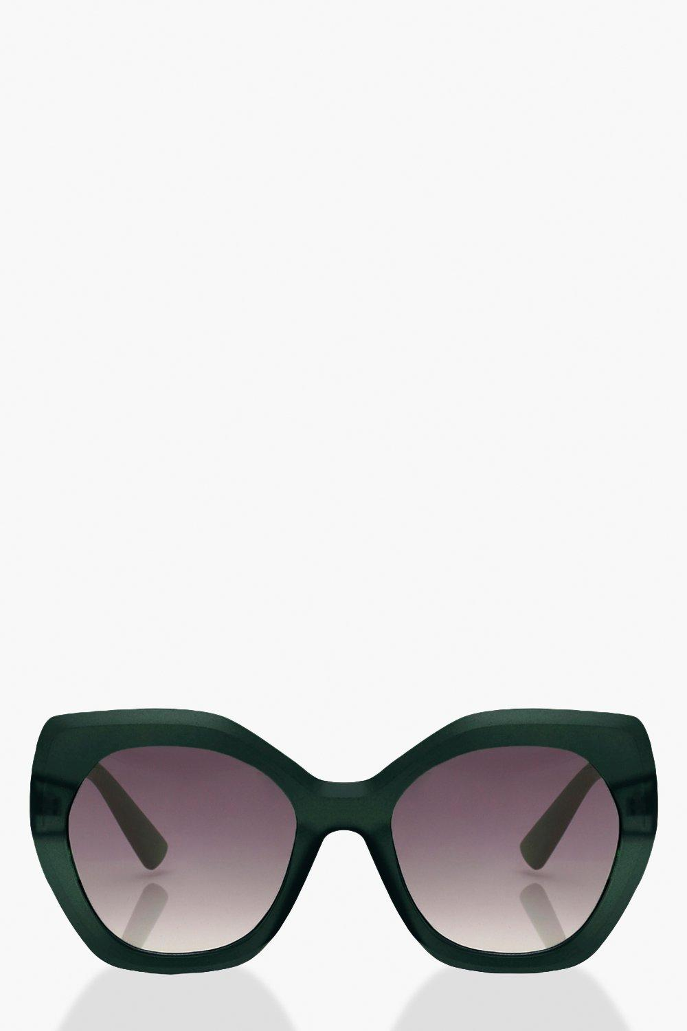 WOMENS Frosted Oversized Sunglasses