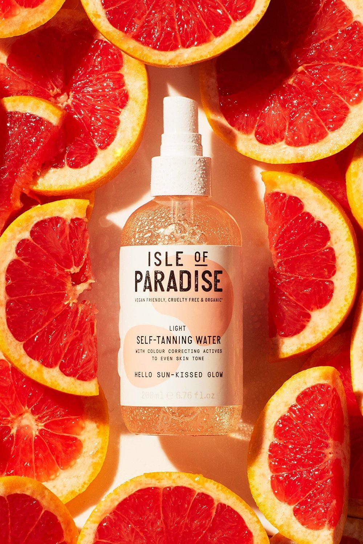 Isle of Paradise Womens Isle Of Paradise Self Tanning Drops Light - White - One Size, White