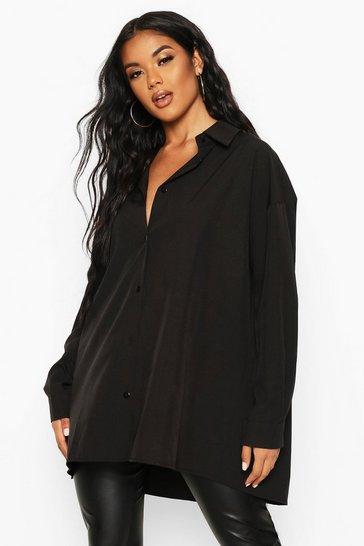 Black Extreme Oversized Shirt
