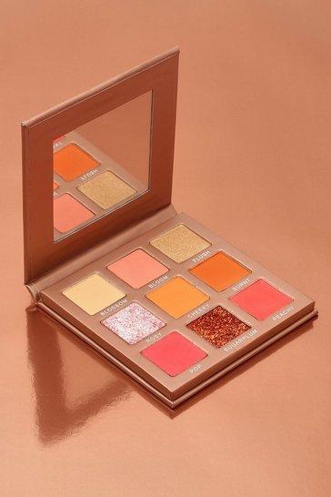 Nude Boohoo Blush Kisses 9 Shade Eyeshadow Palette