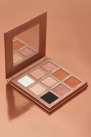 Nude Boohoo Chocolate Box 9 Shade Eyeshadow Palette